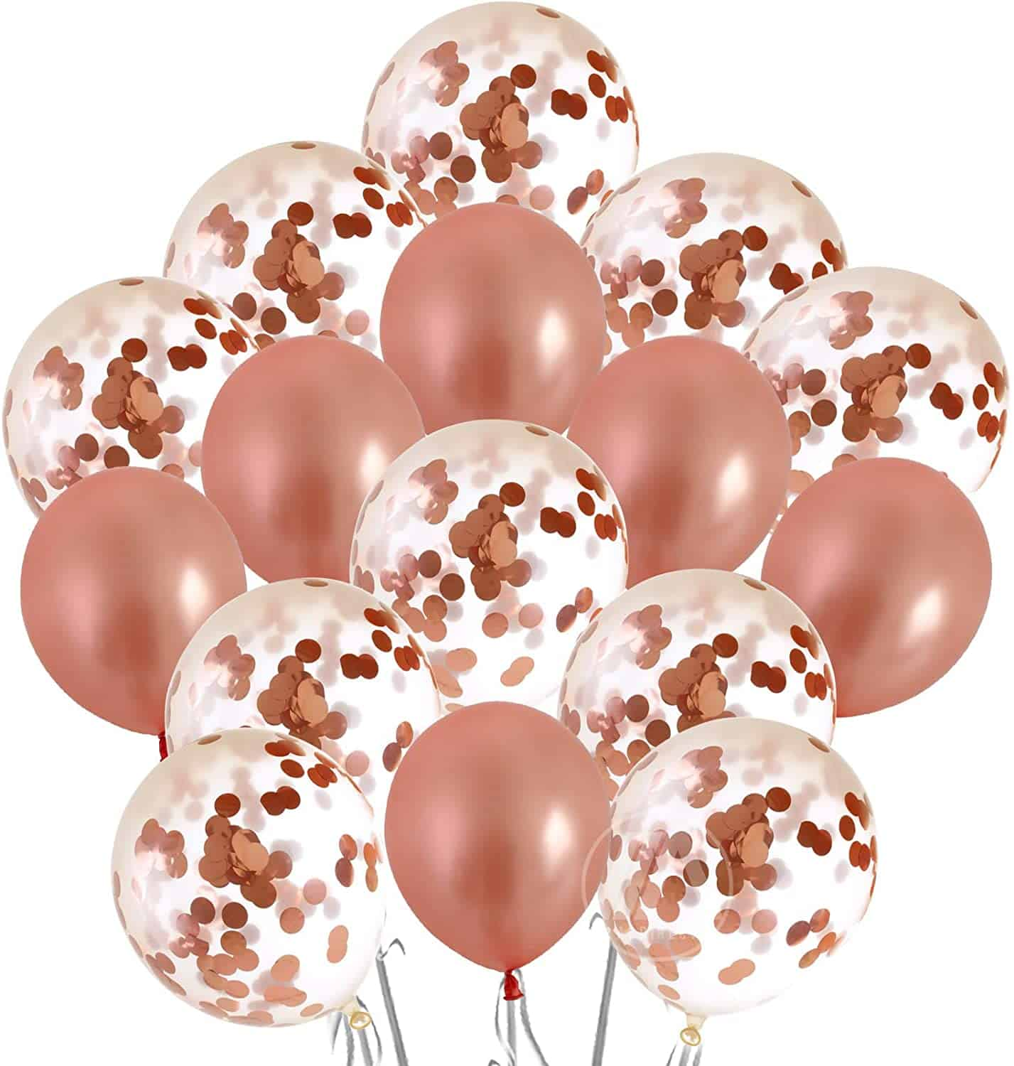Rose Gold Balloons and Party Decorations for $5.70 (Reg. $18.99)