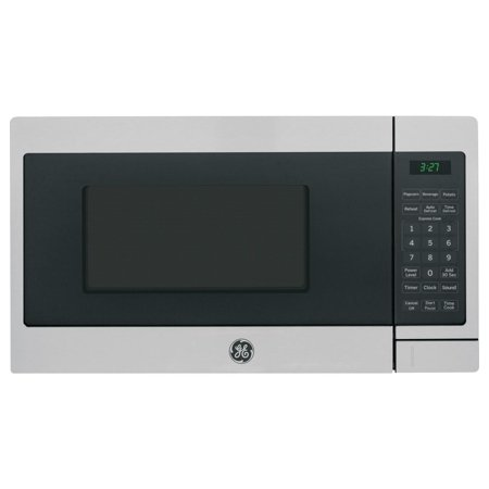 GENERAL ELECTRIC 0.7 Cu. Ft. Capacity Countertop Microwave Oven, Stainless Steel (Walmart)