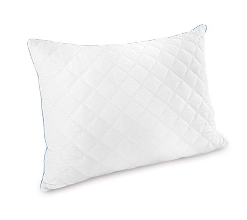 (Amazon) Charisma Gel Hybrid Bed Pillows, White 2 Count
