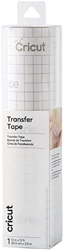 (Amazon) Cricut Transfer Tape – 1ft x 12ft – Easy Transfer Adhesive Sheet for Vinyl Projects – Compatible with Most Vinyl Types – Clear
