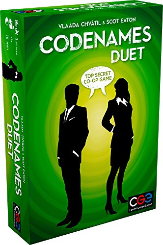 (Amazon) Czech Games Codenames: Duet – The Two Player Word Deduction Game