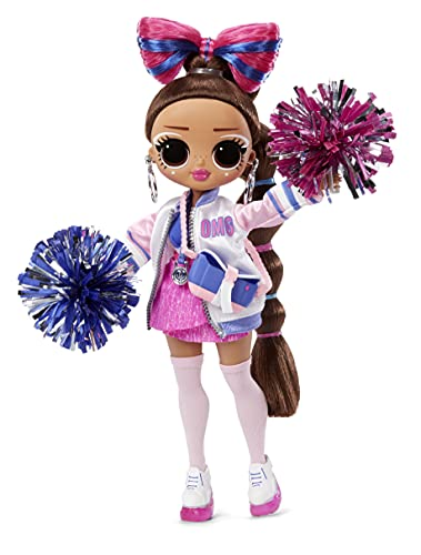 (Amazon) LOL Surprise OMG Sports Cheer Diva Competitive Cheerleading Fashion Doll with 20 Surprises to UNbox