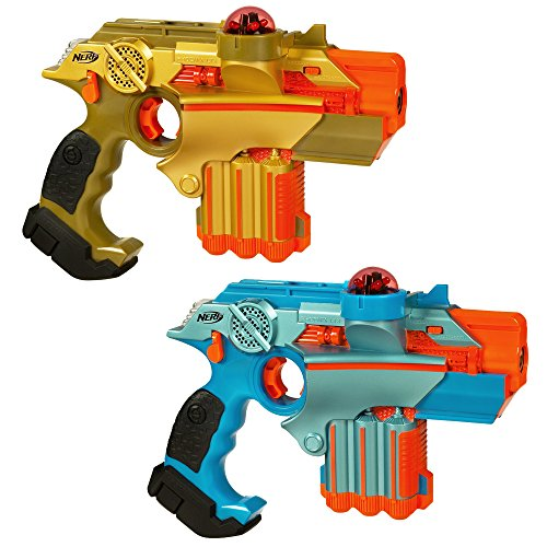 (Amazon) Nerf Official: Lazer Tag Phoenix LTX Tagger 2-pack – Fun Multiplayer Laser Tag Game for Kids & Adults, Ages 8 & Up (Amazon Exclusive)