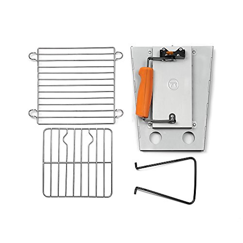 (Amazon) Outset 76356 Collapsible Camping Grill and Chimney Starter
