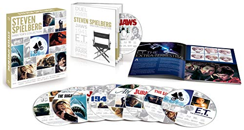 (Amazon) Steven Spielberg Director's Collection (Jaws / E.T. The Extra-Terrestrial / Jurassic Park / The Lost World: Jurassic Park / Duel / The Sugarland Express / 1941 / Always) [Blu-ray]