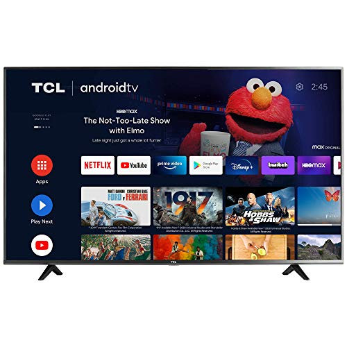 (Amazon) TCL 50-inch Class 4-Series 4K UHD HDR Smart Android TV – 50S434, 2021 Model