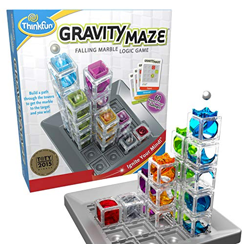 (Amazon) ThinkFun Gravity Maze Marble Run Brain Game and STEM Toy for Boys and Girls Age 8 and Up – Toy of the Year Award Winner