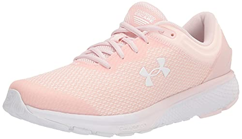(Amazon) Under Armour Women's Charged Escape 3 BL Running Shoe, Micro Pink (602)/Micro Pink, 12