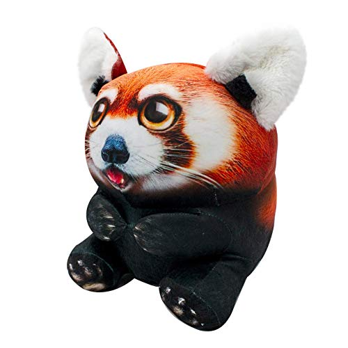 """(Amazon) Wild Alive- Fiercely Cute, Snuggly 5"""" Riley Red Panda- Photo Realistic Stuffed Animal- Made with, Safe Materials"""