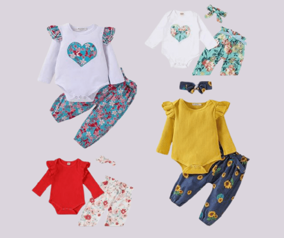 Baby Outfit $10.99 on Amazon