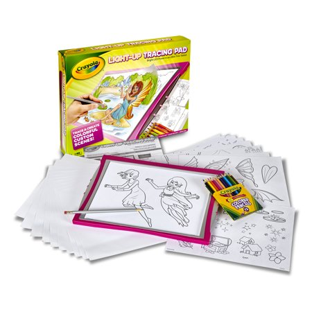Crayola Light-Up Tracing Pad Pink Specialty Paper Child Ages 3+ (Walmart)