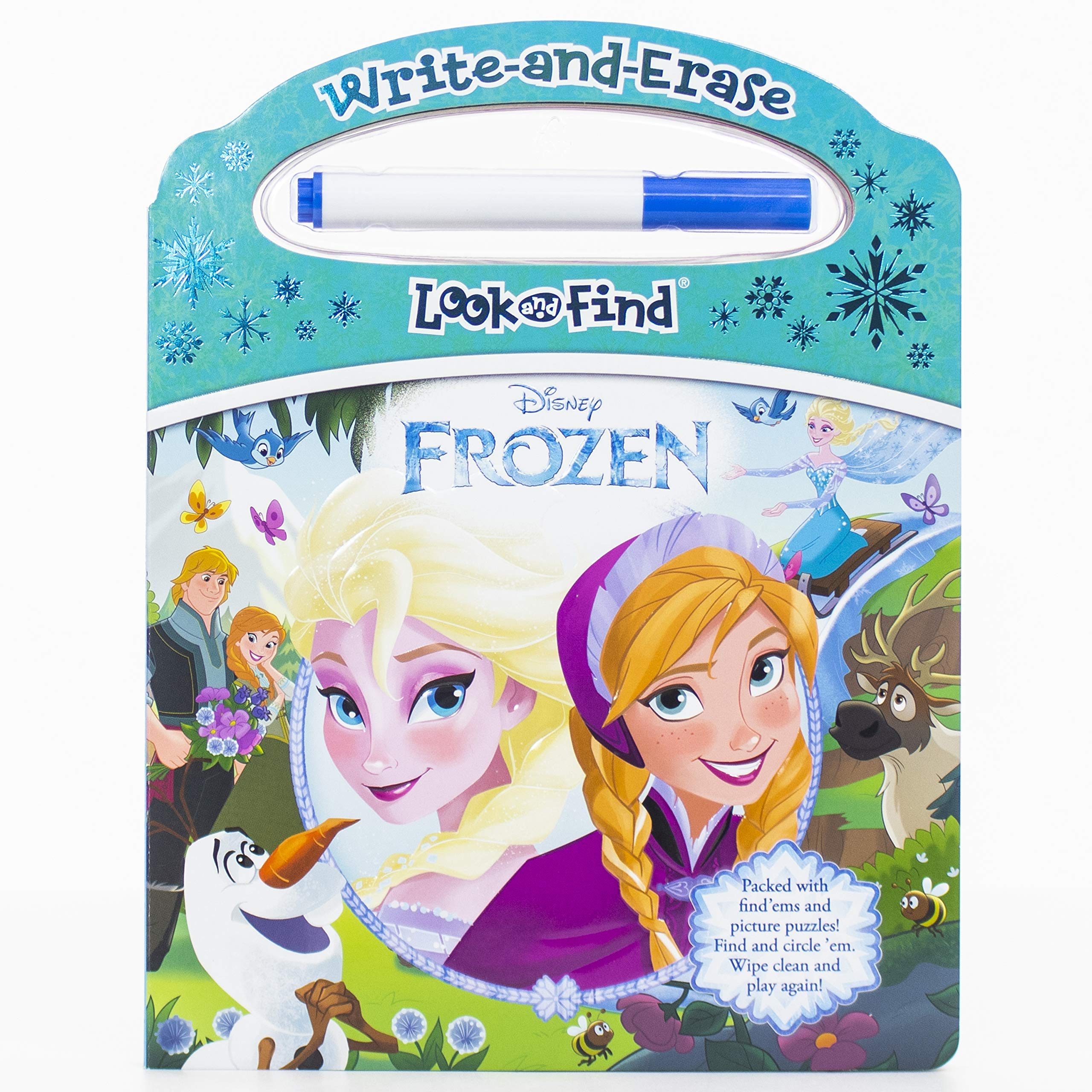 Disney Frozen – Write-and-Erase Look and Find – Wipe Clean Learning Board – PI Kids Board book $4.99 (Reg $11.99) on Amazon