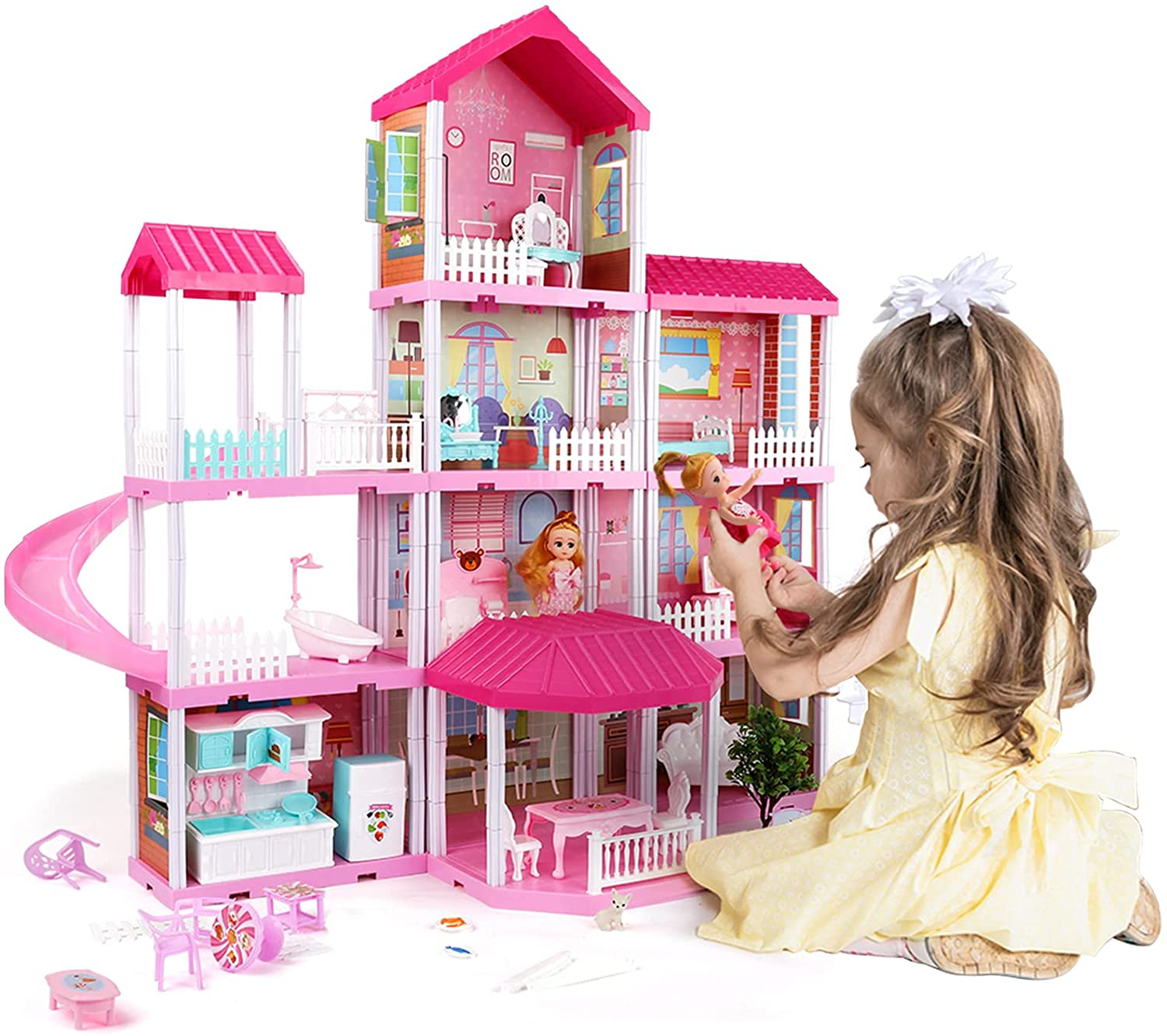 House with Doll Toy Figures for $79.99 (Reg $99.99)