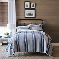 Hudson & Main Everet Stripes Quilt, Twin (JCPenney)