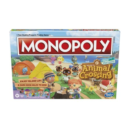 Monopoly animal Crossing New Horizons Edition Board Game for Ages 8+, Fun Game to Play (Walmart)