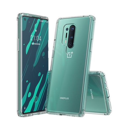 SaharaCase – Crystal Series Case for OnePlus 8 Pro – Clear (Best Buy)