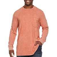 The Foundry Big & Tall Supply Co Crew Neck Long Sleeve T-Shirt (JCPenney)