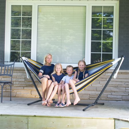 Vivere's Double Serenity Hammock Combo with 9ft Stand (Walmart)
