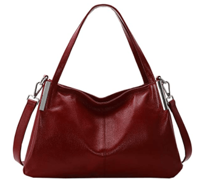 Women's Leather Tote Bag for $55.99 Shipped on Amazon