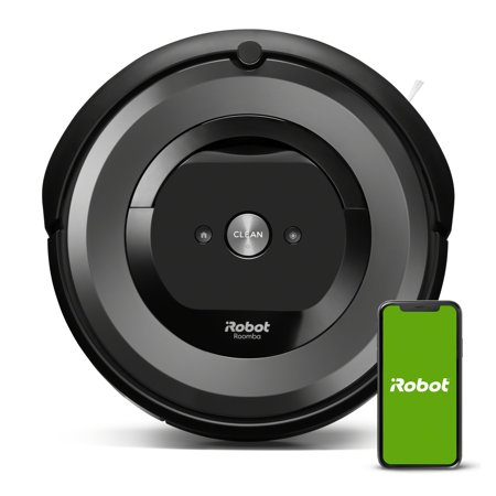 iRobot Roomba e6 (6134) Wi-Fi Connected Robot Vacuum – Wi-Fi Connected, Works with Alexa, Ideal for Pet Hair, Carpets, Hard, Self-Charging Robotic Vacuum (Walmart)